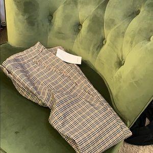 Ruffled pocked ZARA pants NWT